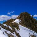 False summit on Cabin Mountain.- White Knob Range Traverse