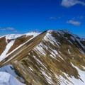 Lime Mountain from Redbird Mountain.- White Knob Range Traverse