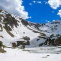The north aspect of Lime Mountain.- White Knob Range Traverse