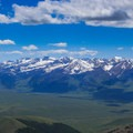The Eastern Pioneer Mountains from the White Knobs.- White Knob Range Traverse
