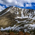 Redbird Mountain from Stewart Canyon.- White Knob Range Traverse