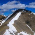 Redbird Mountain.- White Knob Range Traverse