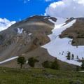 Redbird Mountain from below.- White Knob Range Traverse