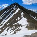 Shelly Mountain from Redbird Mountain..- White Knob Range Traverse