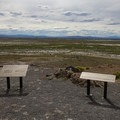 Overlooking Fallon, Nevada.- Grimes Point Archaeological Area