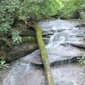 Waterfall on the way to Black Rock Lake.- James Edmond Trail + Black Rock Lake