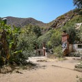 """""""Tropical Terrace,"""" the ruins of the Roberts Ranch House property.- Solstice Canyon"""