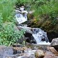 Roaring Fork Creek.- Longs Peak: Keyhole Route