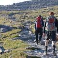The slog up to Longs Peak.- Longs Peak: Keyhole Route