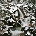 Some of the many waterfalls that dot Little Cottonwood Creek.- Tanners Flat