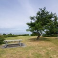 Picnic area overlooking the Pacific Ocean.- Joseph Whidbey State Park Beach