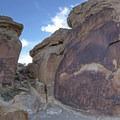 Rochester Rock Art Petroglyphs.- Rochester Rock Art Petroglyphs