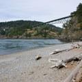 Deception Pass Bridge.- North Beach, Deception Pass State Park