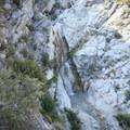 Looking down on the falls.- San Antonio Falls