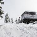 Devils Peak Lookout.- Devils Peak Lookout