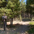 Black Butte Trailhead (WK2).- Big Horn Peak