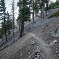 The trail to Ontariol Peak.- Ontario Peak