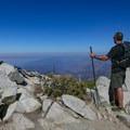 Ontario Peak (8,693 ft).- Ontario Peak