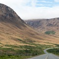 The Tablelands from NL-431, one of two places on earth where mantle rock has been pushed to the surface.- The Long Range Traverse