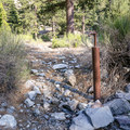 Water faucets are set throughout the campground.- Manker Flats Campground