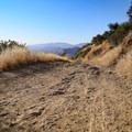 The short trail is rough dirt.- Knapp's Castle