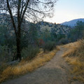 A short, steep trail leads down to the springs.- Remington Hot Springs
