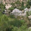 Deep Creek Hot Springs.- Deep Creek Hot Springs