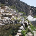 Upper pool at Deep Creek Hot Springs.- Deep Creek Hot Springs
