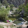 Deep Creek Hot Springs.- Lower Deep Creek Canyon + Warm Springs