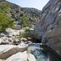 The pool at Deep Creek Warm Springs.- Lower Deep Creek Canyon + Warm Springs