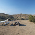 Typical campsite at Bowen Ranch.- Bowen Ranch Campsites