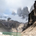 The Torres del Paine, for which the park is named.- The W Trek