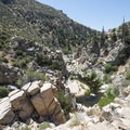 Deep Creek Canyon 0.5 miles upstream from Devils Hole.- Upper Deep Creek Canyon to Devils Hole