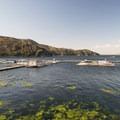 Marina at Silverwood Lake State Recreation Area.- Silverwood Lake State Recreation Area