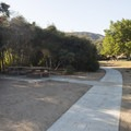 Picnic area at Cleghorn Day Use Area + Swim Beach.- Cleghorn Day Use Area + Swim Beach