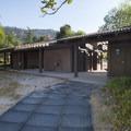 Restroom facilities at Silverwood Lake Swim Beach.- Silverwood Lake Swim Beach