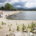 Swim beach at East Public Boat Launch on Big Bear Lake.- East Public Boat Launch