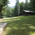 Site B at Honeymoon Bay Group Campground.- Honeymoon Bay Group Campground