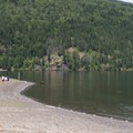 Cultus Lake from Maple Bay Day Use Area.- Maple Bay Campground + Day Use Area