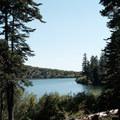 Carr Lake and campground.- Island Lake via Round Lake Trail