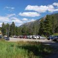 Lake Fork Trailhead parking.- Black Canyon Lake