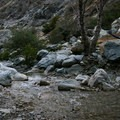 Backcountry camping in the Narrows.- Bridge to Nowhere / East Fork San Gabriel River Trail