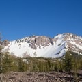 Chaos Crags, near the park's north entrance.- Lassen Volcanic National Park