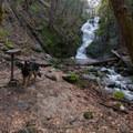 Boulder Creek Falls.- Boulder Creek Falls