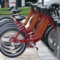 Bike shares are an easy way to explore the National Mall and Memorial Park.- National Mall + Memorial Parks