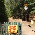 The entrance to the hot springs area.- Feather River Hot Springs