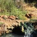 A hot cascade near Feather River Hot Springs.- Feather River Hot Springs
