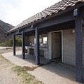 Restroom and wash facility at Sycamore Cove Beach.- Sycamore Cove Beach