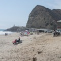 Adjacent Sycamore Cove Beach, Point Mugu State Park.- Sycamore Canyon Campground