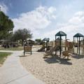 Upper playground at Kenneth Hahn State Recreation Area.- Kenneth Hahn State Recreation Area
